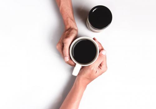 praatmoment koffie